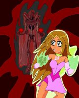 Winxclub: Flora Vs Darkar by lady-warrior