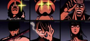 One Piece Evil Straw Hats by Abyss1