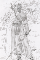 Drow Ranger by Shabazik
