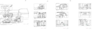 Ed Camel Storyboards Part 4A by mavartworx
