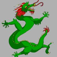 Chinese Dragon  - Cel Shading by Songwind
