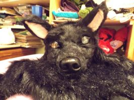 First fursuit head by manga-inu-chan