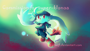 Commission - Super Klonoa by PhuiJL