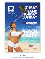 Beach Party Flyer by ALTereg0