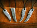 Damascus Fangs and Claws by Rajala