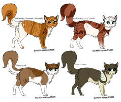 Adoptables Batch -Hypos- by SpottedCrows