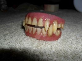 Bigger and Badder Werewolf teeth by HobbyFX