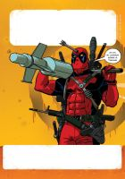 Deadpool by burningflag
