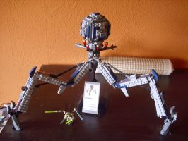 Lego Star wars Tri Droid by Teratophoneus