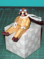 Porco Rosso papercraft by Rubenandres77