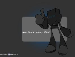 ps2 equals love by Xeno-striker