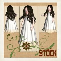 Children stock pack 02 by Ecathe