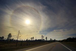 Solar Halo over M-28 by tfavretto