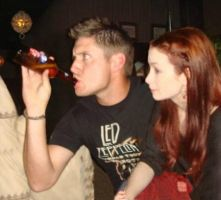 Dean/Charlie at the party by LilliIpad