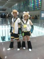 TnT 2012 Rin and Len by AxistXXI