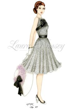 Pinup: My Fair Lady by laurakimseydesigns