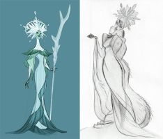 Elsa before she was Elsa by TheDevilReborn
