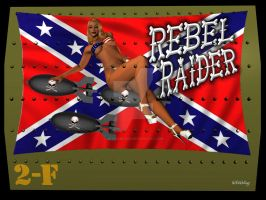 Rebel Raider Noseart by graveminder
