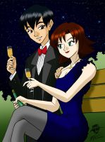 Jack and Sarah date by ArthurT2015