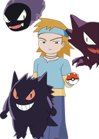 Morty and yours Pokemon by Krishtal