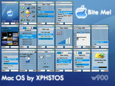 Mac OS by XPHSTOS-Psilocybin