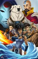 Legend of Korra by WiL-Woods