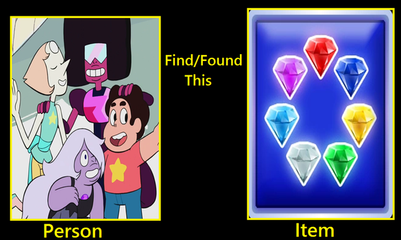What if the Crystal Gems find the Chaos Emeralds by rabbidlover01