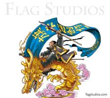 The Flagman by daxiong