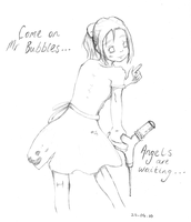 Come on, Mr Bubbles... by Triela-sama