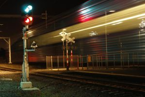 Long Exposed Signal by agreenbattery