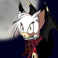 Willow the vampirebat by rougeTbat