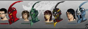 The Guyver PD: Bio Boosted Cast by Guyver89