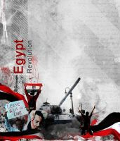 Egypt Revolution by bluemo0on