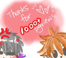 Thanks for 1000+ Pageview by joker4msy