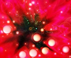 Red Flower Nebula by WDLady