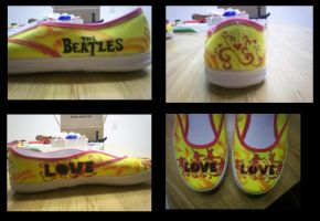 Beatles Shoes- All Angles by Tammy-Tamborine