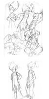 Wakfu: Tristepin Modle Drawing by Maiden-Chynna