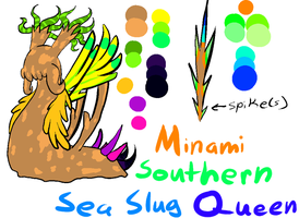 Southern Sea Slug Queen by Skull-gum