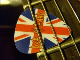 Def Leppard Guitar Pick by roxy-clark