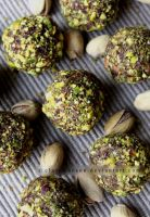 Naughty Chocolate Pistachio Truffles by claremanson