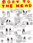 BOOT TO THE HEAD part1 by AmidnightWish