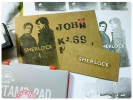 Sherlock Stamp Card by amoykid