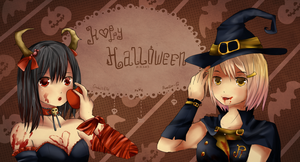 Happy Halloween by GredellElle