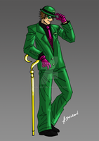 Riddler by ADL-art