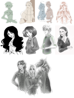 Sketches by Lady-Ignea