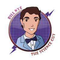 Chibi Scientists: Bill Nye by AeroJett