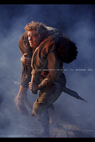 Samwise, the Brave. by ilcielocapovolto