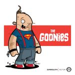 The Goonies - Supersloth Vector by funky23
