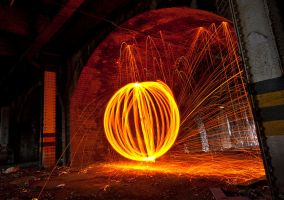 Wire wool orb 2 by AngiWallace