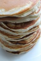 stack of pancakes by starpersona